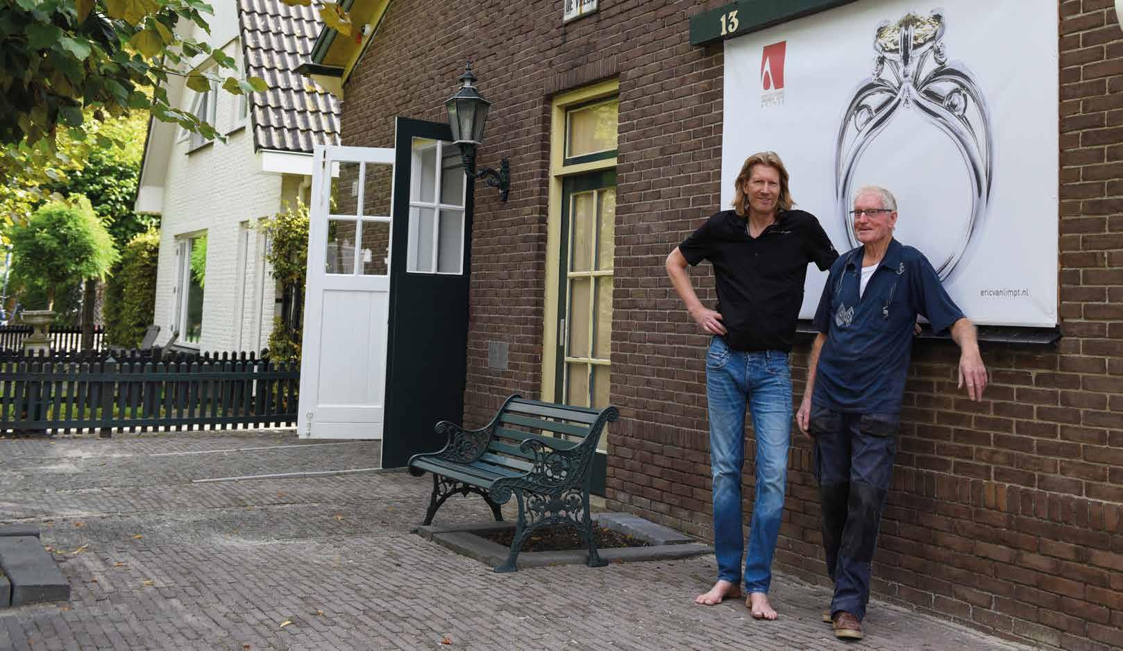 Goldsmith and designer Eric van Limpt